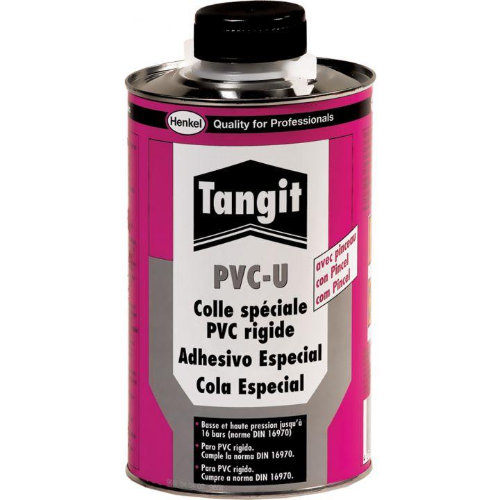 Клей для труб из ПВХ Tangit PVC-U, 1 кг (с кистью) (1042720)